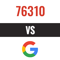 76310 plus fort que Google !